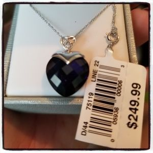 Jewelry - Sapphire Heart Necklace